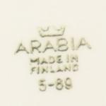 Arabia/アラビア Raija Uosikkinenデザインのプレート 5-89