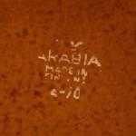 Arabia/アラビア Ulla Procope/ウラ・プロコッペデザインのティーカップ&ソーサー Ruska/ルスカ