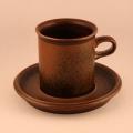 Ulla Procope/ウラ・プロコッペデザインのコーヒーカップ&ソーサー