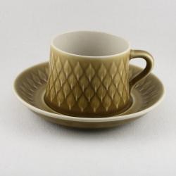 Bing & Grøndahl Quistgaard/クイストゴーデザインのカップ&ソーサー Relief/レリーフ