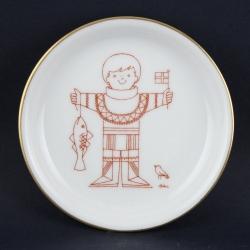 Bing & Grøndahl Ib Antoniデザインの小さい壁掛け(民族衣装) グリーンランド