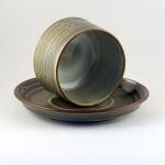 Bing & Grøndahl Quistgaard/クイストゴーデザインのカップ&ソーサー Rune/ルネ