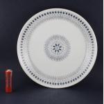 Egersund/イーエスンド 幾何学模様のケーキ皿 blue