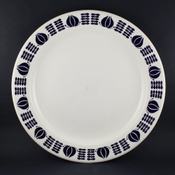 Egersund/イーエスンド ディナープレート blue