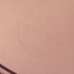 Erik Kold/エリック・コルド 茶色の花柄キャニスター(中) 6015