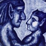 Herman Stillingイラストの母の日プレート/マザーズデイ 1973