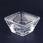Holmegaard/ホルムガード 透明キャンドルスタンド(2個セット) Aqua