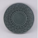 Kronjyden/クロニーデン Quistgaard/クイストゴーデザインのカップ&ソーサー Blue Azur