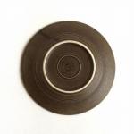 Kronjyden/クロニーデン Quistgaard/クイストゴーデザインのケーキプレート Brun Azur