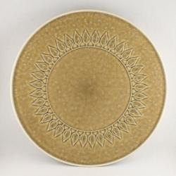 Kronjyden/クロニーデン Quistgaard/クイストゴーデザインのケーキサービングプレート Relief/レリーフ