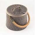 Quistgaard/クイストゴーデザインのジャムポット(こげ茶)