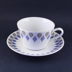 Lyngby Porcelain/リュンビュー・ポーセリン ティーカップ&ソーサー Danild 66