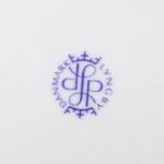 Lyngby Porcelain/リュンビュー・ポーセリン Tangent(鍵盤)模様のケーキプレート Danild 64