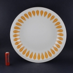 Lyngby Porcelain/リュンビュー・ポーセリン オレンジのロータス深皿 Lotus/ロータス
