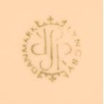 Lyngby Porcelain/リュンビュー・ポーセリン ケーキ皿 Danild 30