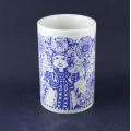 Wiinblad/ヴィンブラッドのイラスト花瓶