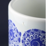 Nymolle/ニュモール Wiinblad/ヴィンブラッドのイラスト花瓶 Flora