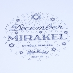 Nymolle/ニュモール Wiinblad/ウィンブラッドのイラスト壁掛け(12月)ウィンブラッド 3013-12