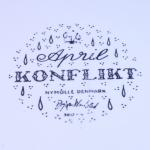 Nymolle/ニュモール Wiinblad/ウィンブラッドのイラスト壁掛け(4月) 3013-4