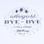 Nymolle/ニュモール Wiinblad/ウィンブラッドのイラスト壁掛け(8月) 3013-8