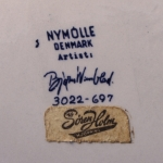 Nymolle/ニュモール Wiinblad/ウィンブラッドのイラストフラワーポット 3022-697