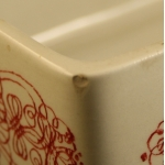 Nymolle/ニュモール Wiinblad/ウィンブラッドのイラスト陶器製ボックス 3174-239