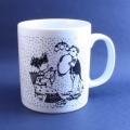 Wiinblad/ウィンブラッドのイラストカップ(9月)
