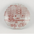 コペンハーゲンのイラスト小皿