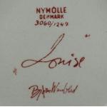 Nymolle/ニュモール ヴィンブラッドのイラスト壁掛け(スクウェア) Louise