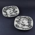 ヴィンブラッドイラストの小皿(2枚組)