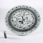 Nymolle/ニュモール ヴィンブラッドのイラスト壁掛け大皿 winter/冬