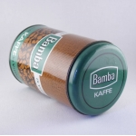 コーヒー豆プリントのキャニスター Bamba kaffe