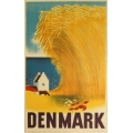 Aage Rasmussenデザインの田舎風景ポスター (リプリント)