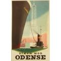Aage RasmussenデザインのOdense(オーデンセ)ポスター (リプリント)