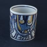 Royal Copenhagen/ロイヤル・コペンハーゲン イヤーマグカップ (小) 1973年