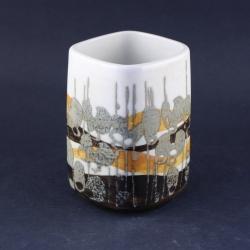 Royal Copenhagen/ロイヤル・コペンハーゲン Ellen Malmer(エレン・マルマー)デザインの花瓶(小) 963-3761