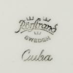 Rörstrand/ロールストランド プレート Cuba/キューバ