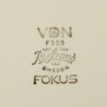Rörstrand/ロールストランド ケーキ皿 Fokus/フォーカス