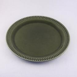 Stavangerflint/スタヴァンゲルフリント 緑色のケーキ皿 Brunette/ブリュネット