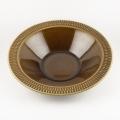茶色のスープ皿