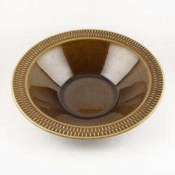 Stavangerflint/スタヴァンゲルフリント 茶色のスープ皿 Brunette/ブリュネット