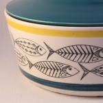 Stavangerflint/スタヴァンゲルフリント 魚のイラストボウル Fish